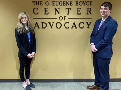 Photo of winning advocates