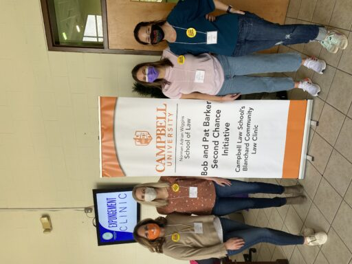 Photo of volunteers at Pitt County Expunction Clinic