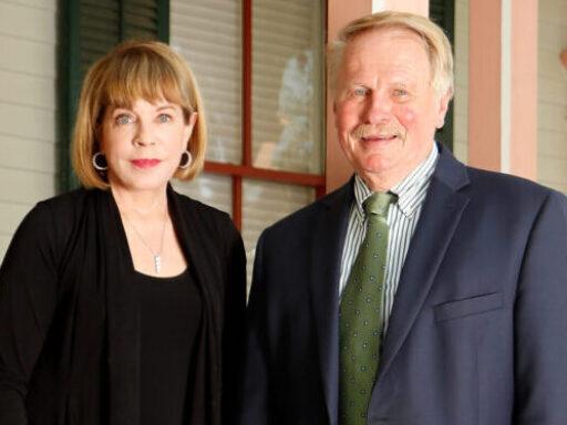 Photo of Carole Gailor and Richard Leonard