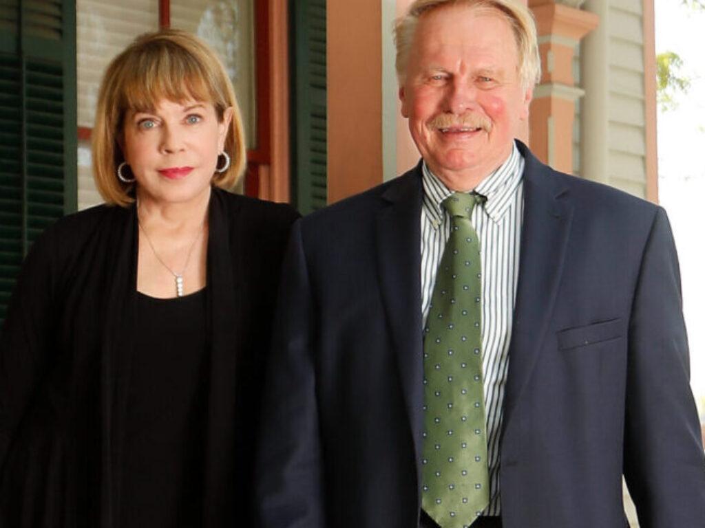 Photo of Carole Gailor and Dean Rich Leonard