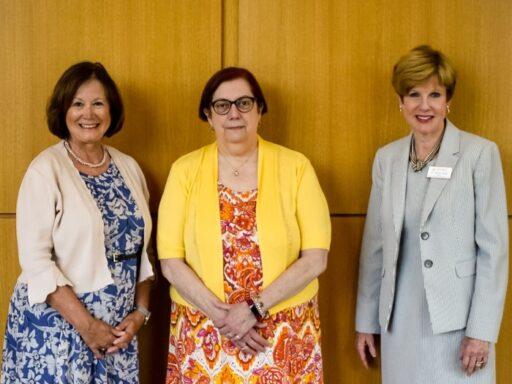 Pam Roberts, Cynthia Johnston, Nancy Duffy