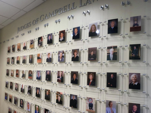 Photo of the Judges Wall