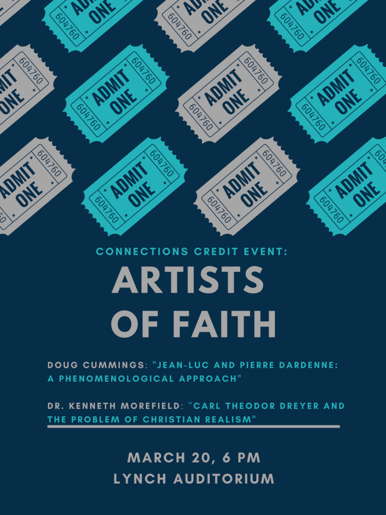 cover image of Artists of Faith flyer