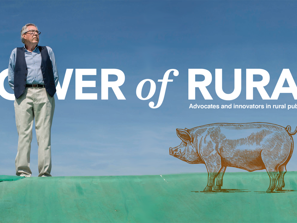 cover image for Power of Rural story