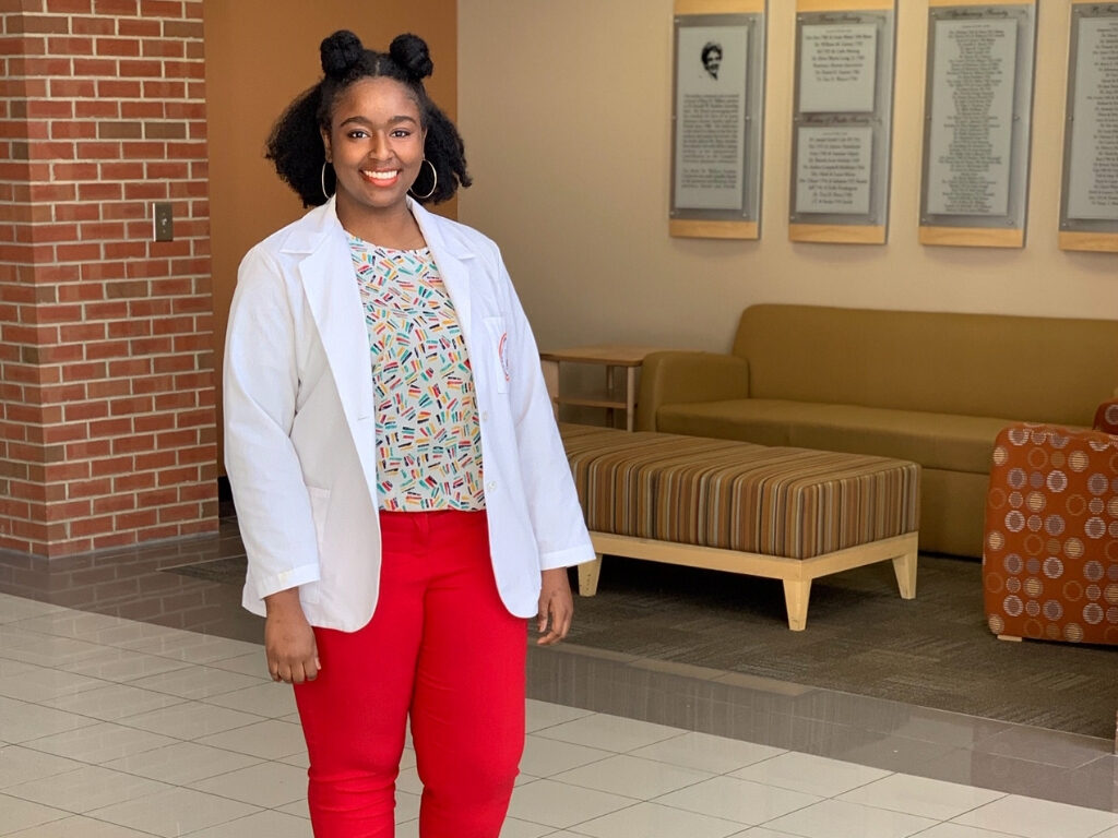 Campbell Student Pharmacist Sai-Wrigt