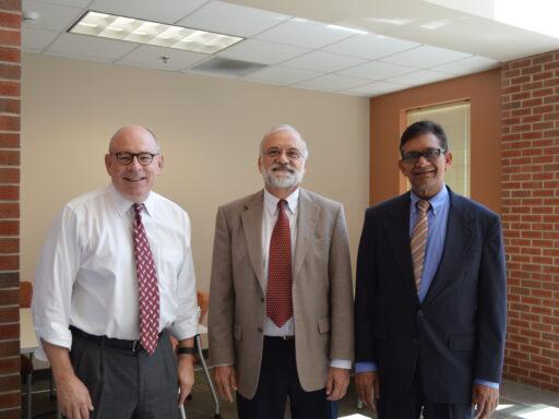 three professors