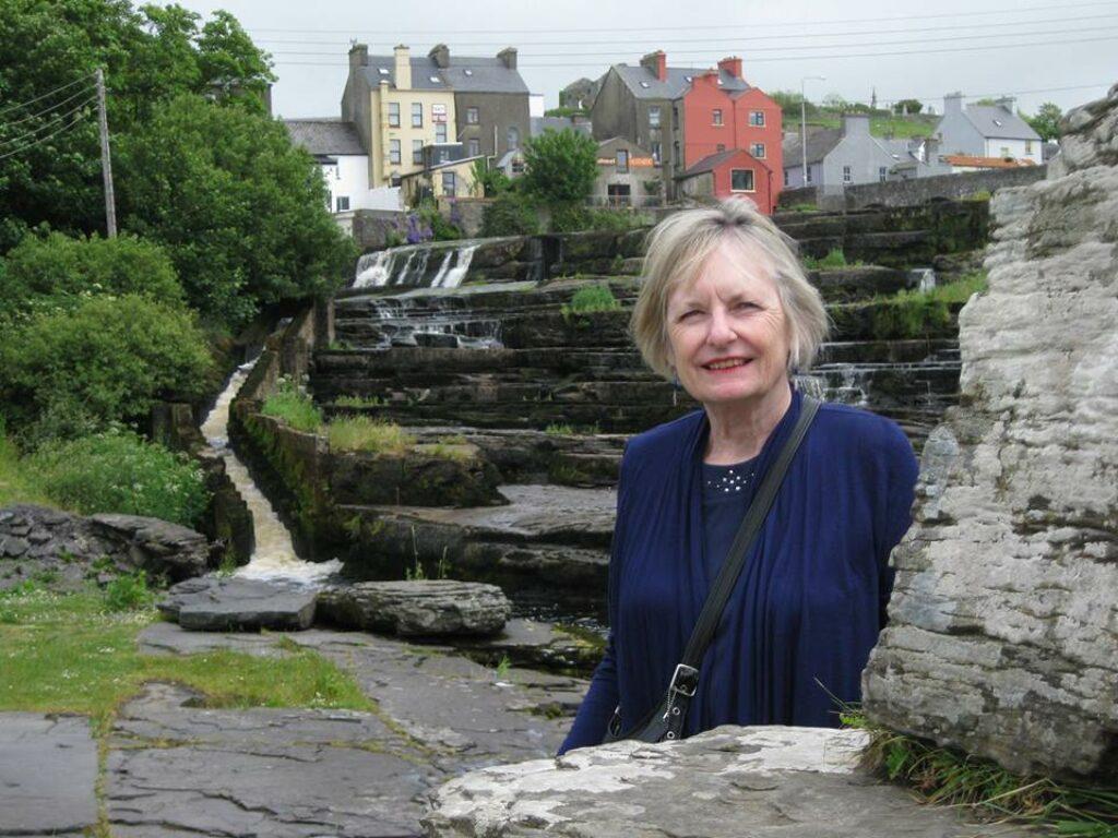 Photo of Beverley Howard in Ireland.