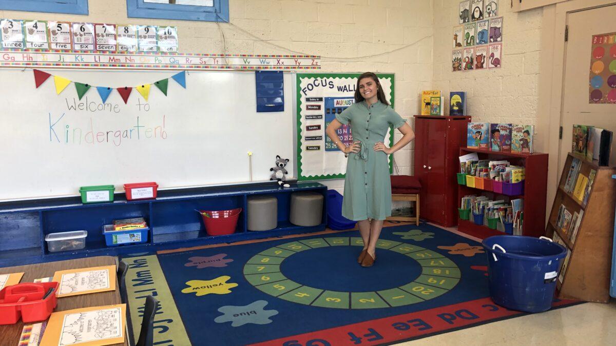 Ashlyn in classroom