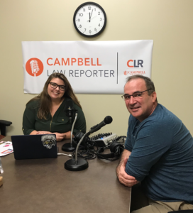 Photo of CLR Podcast with Sean Doyle and Shannon Lackey '21