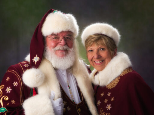 Joe & Geanie Slifer as Mr. & Mrs. Claus