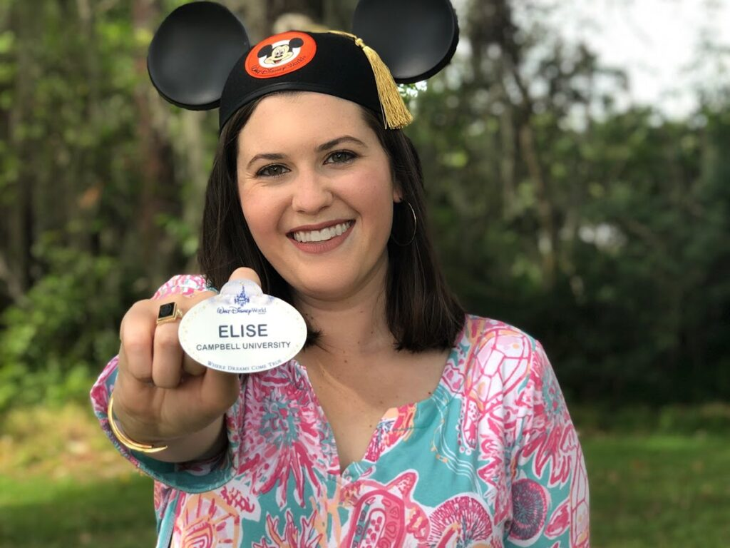Elise participates in Disney College Program