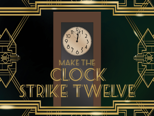 Clock strike 12 campaign graphic