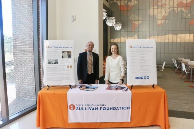 image of Sullivan Foundation booth at Rural Behavioral Health Summit
