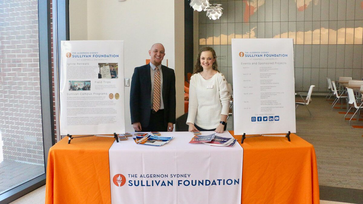 image 2 of Sullivan Foundation booth at Rural Behavioral Health Summit