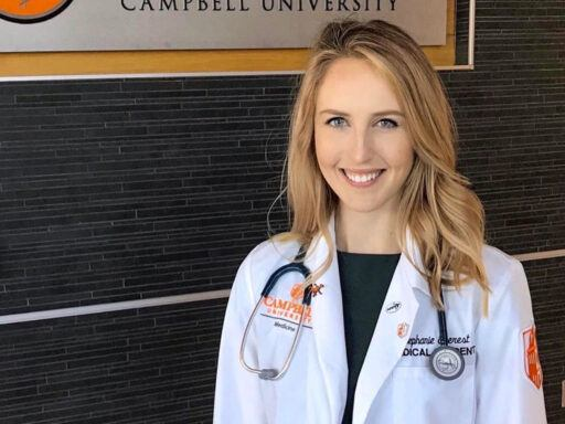 Medical Student Stephanie Everest