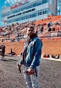 Sterling DJ at Stadium