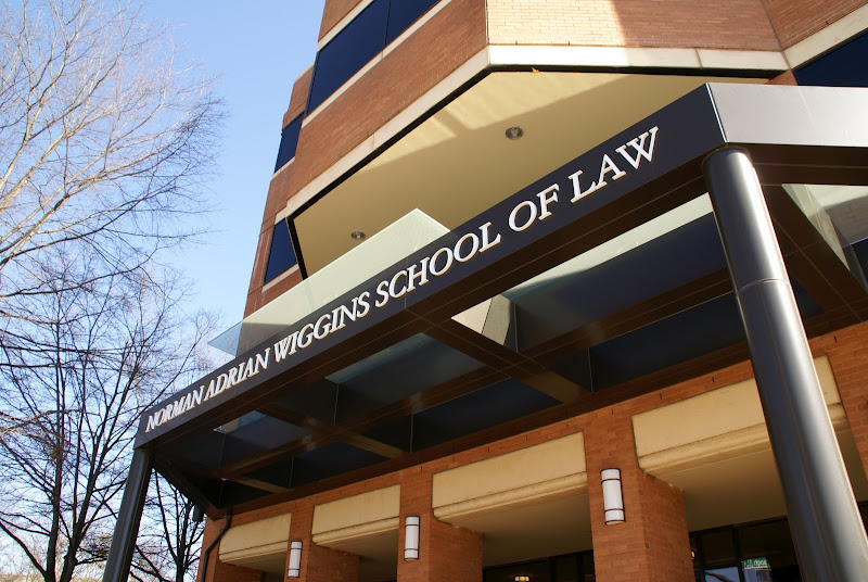 exterior of law building