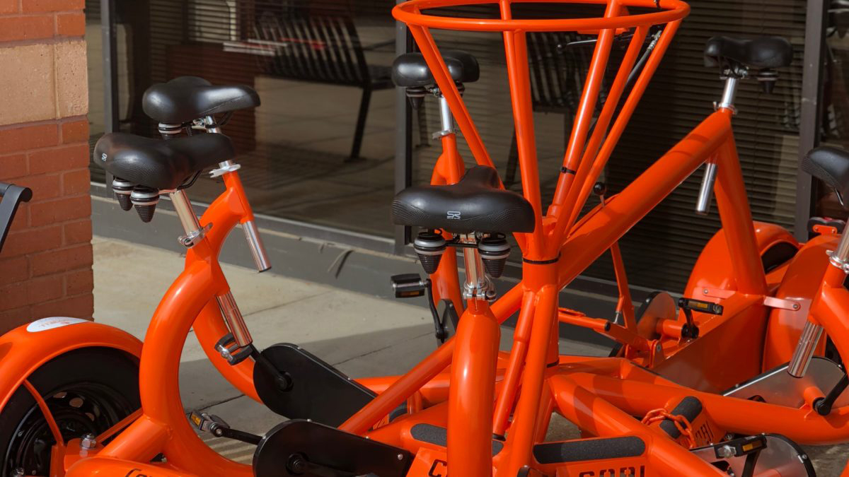image of conference bike