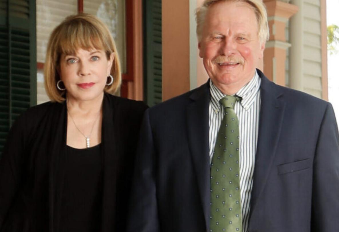 Photo of Carole Gailor and Dean Leonard